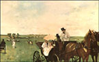 Edgar Degas At the Races in the Country 1872