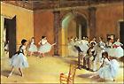 Edgar Degas The Dance Lesson 1872