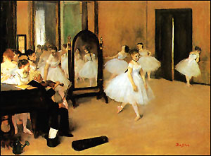 Edgar Degas The Dancing Class