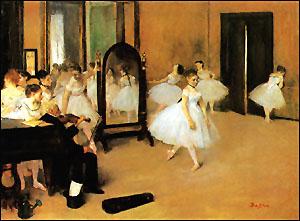 Edgar Degas The Dancing Class