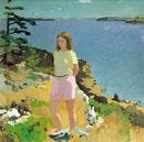 Fairfield Porter Girl in Landscape 1965