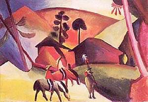 August Macke Indians on Horseback