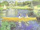 Pierre Auguste Renoir La Seine at Asnieres 1879