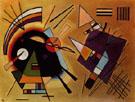 Wassily Kandinsky Black and Violet 1923