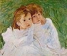 Mary Cassatt Sisters 1885