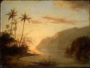 Camille Pissarro A Creek in St Thomas (Virgin Islands) 1856