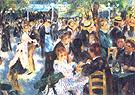 Pierre Auguste Renoir Au Moulin de la Galette 1876