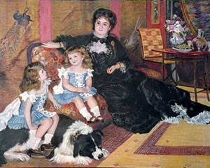 Pierre Auguste Renoir Madam Carpentier and Her Children