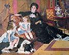 Pierre Auguste Renoir Madam Carpentier and Her Children