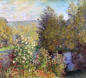 Claude Monet Corner of the Garden at Montgeron
