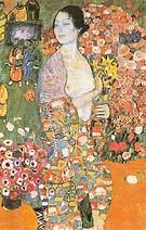 Gustav Klimt The Dancer 1916-18
