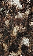 Fernand Leger Three Figures (Study for Three Portraits) 1910-11