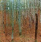 Gustav Klimt Forest of Beeches 1903