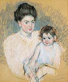 Mary Cassatt Nicolle and Her Mother 1901 (Original Size)