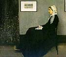 James McNeill Whistler The Artist's Mother 1871 Arrangement in Grey and Black No 1