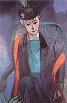 Matisse Potrait of Madam Matisse 1913