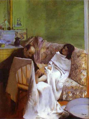Edgar Degas The Pedicurist 1873