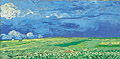 Vincent van Gogh Wheatfield under Thunderclouds 1890