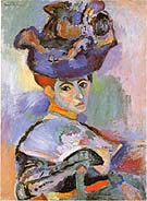 Matisse Woman with Hat 1905