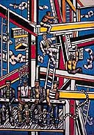 Fernand Leger The Builders with Rope 1950