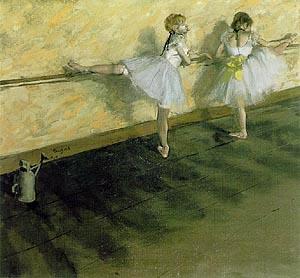 Edgar Degas At the Bar 1876-77