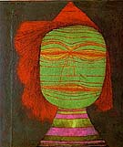 Paul Klee Actors Mask 1924
