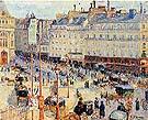 Camille Pissarro Place du Havre Paris 1893