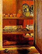 Pierre Bonnard The Red Cupboard 1939