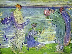 James McNeill Whistler Variations in Blue and Green 1868