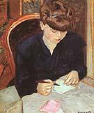 Pierre Bonnard The Letter