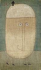 Paul Klee Mask of Fear  1932