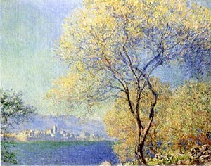 Claude Monet Antibes seen from the Salis Gardens 1888