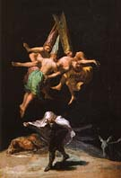 Francisco Goya Witches in the Air