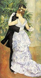 Pierre Auguste Renoir Dance in the City 1882-3