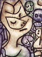 Paul Klee Face of Face