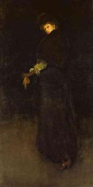 James McNeill Whistler Arrangement in Black  The Lady in the Yellow Buskin Portrait of Lady Archibald Campbell 1882