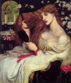 Dante Gabriel Rossetti Lady Lilith 1868-73