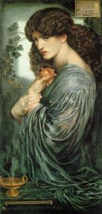 Dante Gabriel Rossetti Porsepine 1877