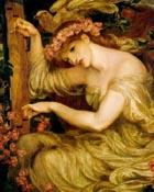 Dante Gabriel Rossetti A Sea Spell 1877