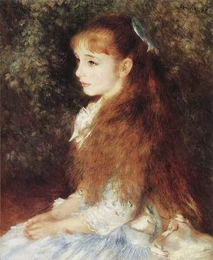 Pierre Auguste Renoir Portrait of Irene Cahen of Antwerp 1880