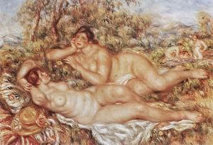Pierre Auguste Renoir Bathers 1918-19