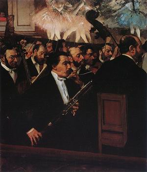 Edgar Degas The Orchestra of the Opera 1870