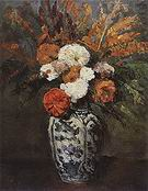 Paul Cezanne Dahlias 1873