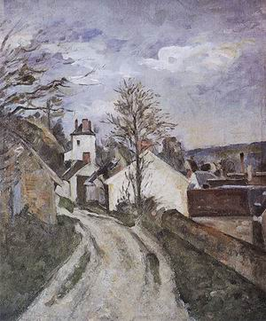 Paul Cezanne The House of Dr Gachet at Auvers 1873