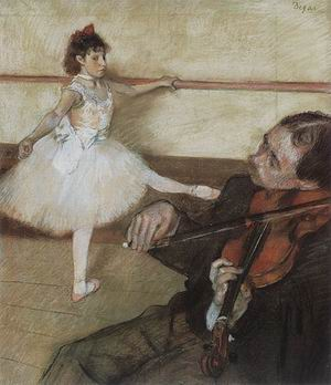 Edgar Degas The Dance Lesson 1879-80
