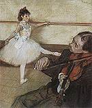Edgar Degas The Dance Lesson 1879-80