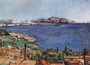 Paul Cezanne The Gulf of Marseilles 1883-85