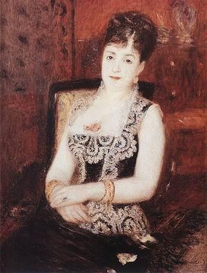 Pierre Auguste Renoir Portrait of the Countess of Pourtales 1877