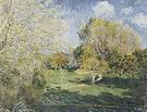 Alfred Sisley The Garden of Ernest Hoschede at Montgeron 1881