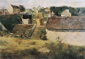 Paul Gauguin Rural Constructions 1880